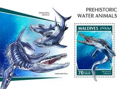 Maldives. 2018 Prehistoric Water Animals. (1104b) - Prehistorics