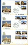 VATICANO - FDC 1993 -   BASILICHE E PALAZZI APOSTOLICI - FDC