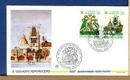VATICANO - FDC 1993 -   SAN GIOVANNI NEPOMUCENO - FDC