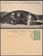 Congo Belge 1918 - Entier Postal Nr. 22 - Est Africain Allemand-Occupation Belge- Les Canons. Ref. (DD)  DC0311 - Belgisch-Congo - Varia