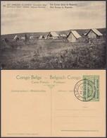 Congo Belge 1918 - Entier Postal Nr. 23 - Est Africain Allemand-Occupation Belge-Camp Ruanda. Ref. (DD)  DC0312 - Belgisch-Congo - Varia