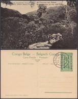 Congo Belge 1918 - Entier Postal Nr. 29 - Est Africain Allemand-Occupation Belge-Caravanne. Ref. (DD)  DC0318 - Congo Belge - Autres