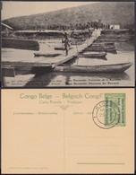 Congo Belge 1918 - Entier Postal Nr. 36 - Est Africain Allemand-Occupation Belge- Ruwuwu. Ref. (DD)  DC0325 - Belgisch-Congo - Varia