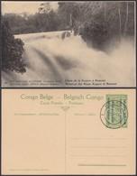 Congo Belge 1918 - Entier Postal Nr. 44 - Est Africain Allemand-Occupation Belge- Chute à Kagera Ref. (DD)  DC0333 - Belgisch-Congo - Varia