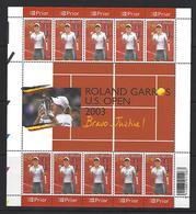 Belgie -Belgique 3225/26 Velletjes Van 10 Postfris - Feuillets De 10 Timbres Neufs  -  Tennis - AAN POSTPRIJS - Feuilles Complètes