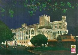 Principaute De Monaco, Place Du Palais, Palais Du Prince La Nuit - Palazzo Dei Principi