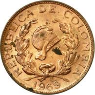 Monnaie, Colombie, Centavo, 1969, TB+, Copper Clad Steel, KM:205a - Colombie