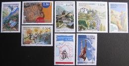 FD/2785 - 2003 - ANDORRE - N°576 à 583 NEUFS** - Cote : 28,40 € ➤➤➤ DEPART A MOINS DE 15% DE LA COTE CATALOGUE - Andorre Français