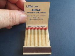 ANTAR,,essence,,carburant,,1 Pochette Pleines D'allumettes - Matchboxes
