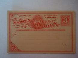 Costa Rica Entier Postal Stationary Carte Postale Tarjeta Postal PWS  3 Centavos - Costa Rica