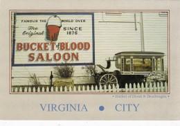 Nevada Virginia City Bucket Of Blood Saloon & Deadwagon
