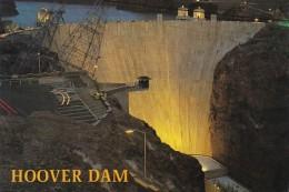 Nevada Hoover Dam At Night