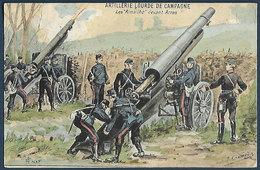 France - Artillerie Lourde De Campagne - Les 'Rimailho' Devant Arras. - Guerre 1914-18