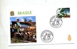 Lettre Cachet Vitoriales Visite Du Pape - Brésil