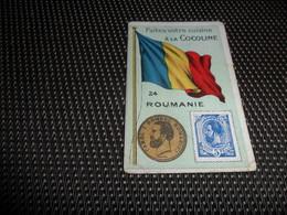 Chromo ( 6759 ) Usines De Bruyn Termonde Dendermonde - Pièce De Monnaie  Timbre  Drapeau - Roumanie  Roemenië - Other