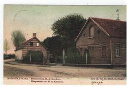 MOERBEKE-WAES. Hengstenstal Van M. De Kerchove - Moerbeke-Waas