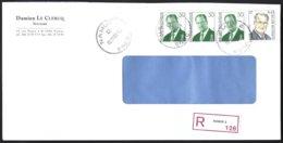 Cob 2662 X3+2840 Albert II  Sur Lettre Recommandé  Namur - Bélgica