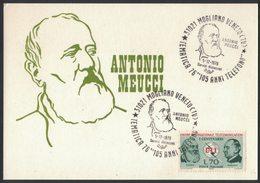 ZN40   Italia, Italy ANTONIO MEUCCI 105 Anni Telefono - 105th Anniversary Telephone - Telecom