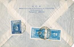 30275. Carta Aerea TEHERAN (Iran) 1944. Sha Persia - Irán