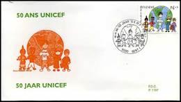 "BELG.1996 2670 FDC : "" - Solidarité - Solidariteit,GESTEMPELD Strombeek-Bever - 1991-00"