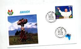 Lettre Cachet Kabcayi Visite Du Pape - Rwanda