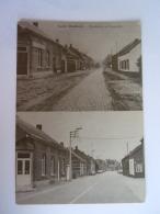 Gestel  (Meerhout) Steenweg Op Genendijk Vroeger En Nu 1978 - Meerhout