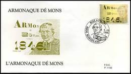 BELG.1996 2664 - FDC - Armonaque Dé Mons ,GESTEMPELD Wilrijk - 1991-00