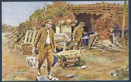 Armée Belge - 6. Près Des Tranchées : Une Cuisine Pittoresque. - Oorlog 1914-18