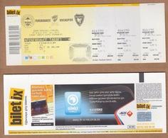 AC - FENERBAHCE Vs BUCASPOR FOOTBALL - SOCCER TICKET 18 DECEMBER 2010 - Match Tickets