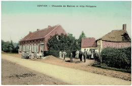 CONTICH - Chaussée De Malines Et Villa Philipine - Kontich