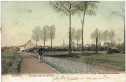 CONTICH - Ingang Van Het Dorp - Kontich