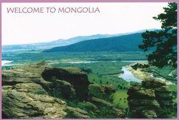 1 AK Mongolei * Orkhon River - Die Landschaft Des Orkhon Valley Gehört Seit 2004 Zum UNESCO Erbe * - Mongolei