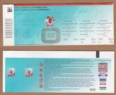 AC - FIFA U - 20 WORLD CUP TURKEY 2013 FOOTBALL - SOCCER TICKET 16 JUNE 2013 - Match Tickets