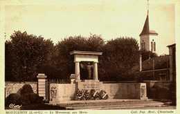 91.....Essonne....Montgeron...le Monument Aux Morts - Montgeron