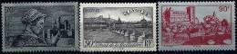 """FR YT 448  449 450  """"Sites Et Paysages """" 1939 Neuf** - France"""