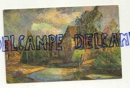 """Maison De Campagne. Reproduction D'une Peinture à L'huile En Relief. """"Imita""""-""""Renommée"""" - Cartes Postales"""