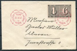1943 Switzerland GEPH Geneva Philatelic Exhibition Cover - Switzerland