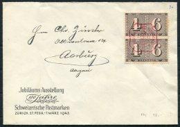 1943 Switzerland Stamp Centenary Exhibition Cover - Switzerland