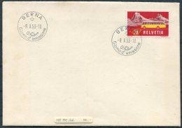 1953 Switzerland Alpenpost First Day Cover. Berrna Giorno D'Emissione FDC - FDC