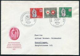1957 Switzerland Pro Patria Bundesfeier Bern First Day Cover - FDC