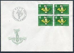 1959 Switzerland Bern First Day Cover. St Gallen Stamp Exhibition - FDC