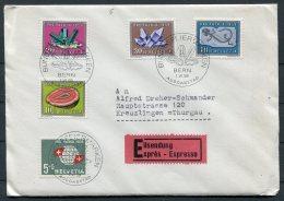1959 Switzerland Bern First Day Cover. Pro Patria, Expres Espresso - FDC