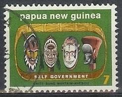 1973 7t Mask, Used - Papua New Guinea