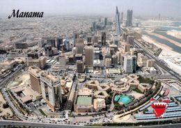1 AK Bahrain * Blick Auf Die Hauptstadt Manama - Luftbildaufnahme * - Bahreïn
