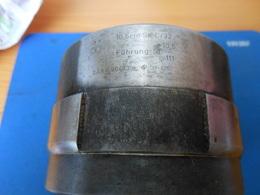 OUTIL D'ARMURIER : JAUGE DE CALIBRAGE OU AUTRE POUR OBUSIER DE 105 SKC/32 - 1939-45