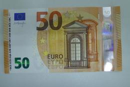 50 EURO SPAIN DRAGHI V001A1 UNC - EURO