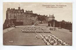 Esplande Edinburgh Castle (Gordon Highlanders On Parade) - Midlothian/ Edinburgh