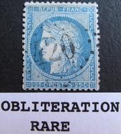 R1684/47 - CERES N°60A - RARE GC 420 : BELFORT (Haut Rhin) ➤➤➤ INDICE 21 - 1871-1875 Cérès