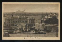 Italia. Liguria. Genova. *Stazione Marittima* Escl. F. Call Nº 326. Nueva. - Genova (Genoa)