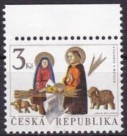 1996,  Tschechische Republik,Ceska 132, Weihnachten. MNH ** - Tschechische Republik